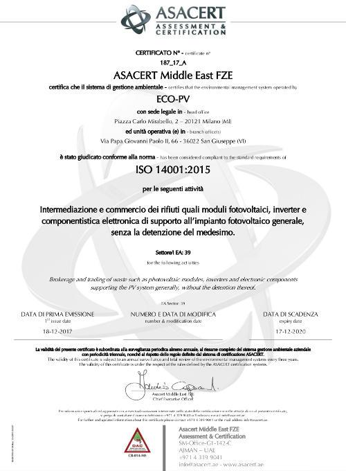 ECO_PV_Certificate_ISO_14001_2015_ASACERT_20171218