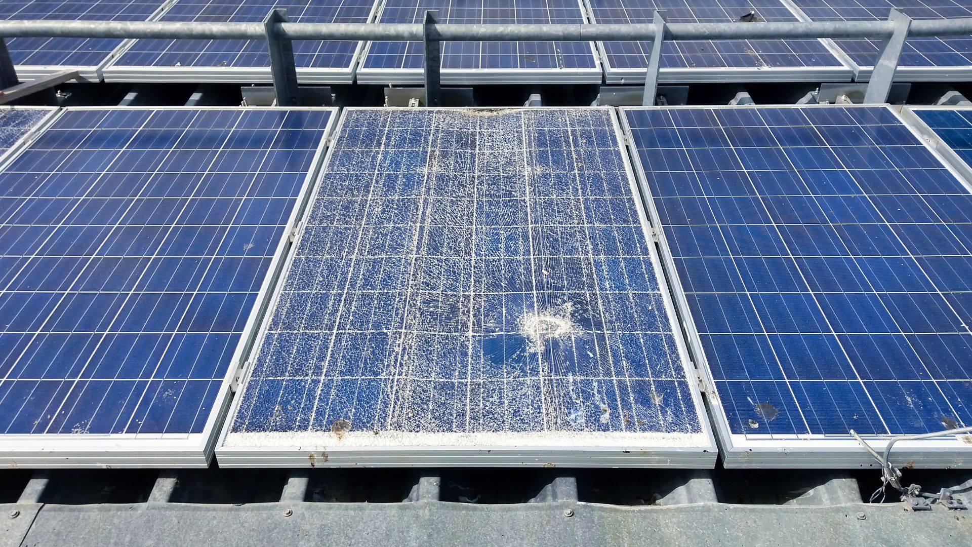 fotovoltaico rotto