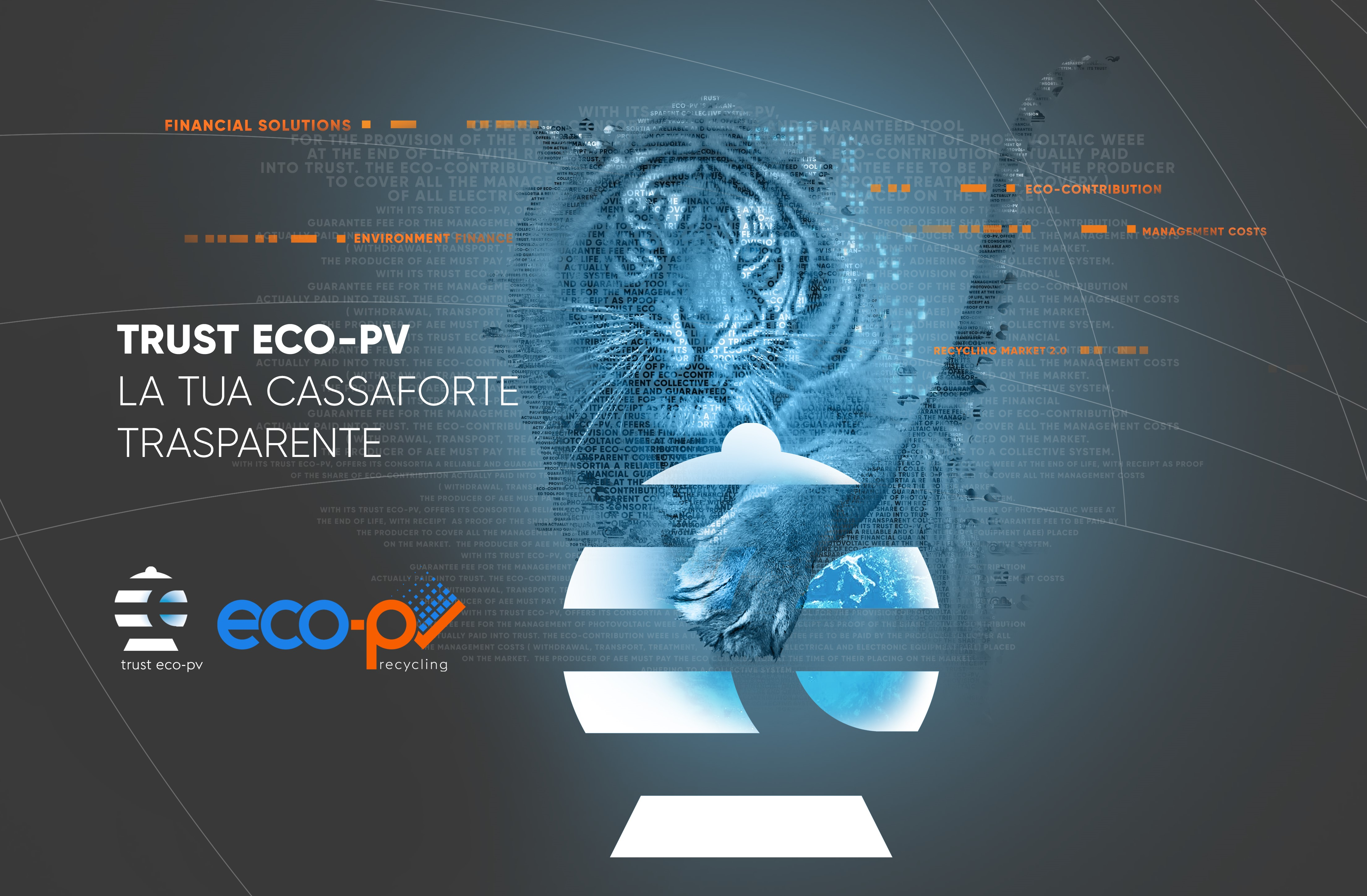 trust eco-pv home page design 2021